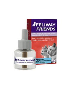 Feliway® Friends Chats Heureux Recharge 30J - 48ml