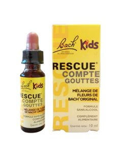 Bach Rescue Kids Compte-Goutte 10ml