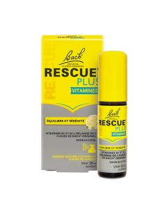 Bach Rescue Plus Solution Buvable Spray 20ml