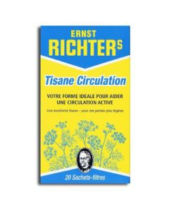 Ernst Richter's Tisane Circulation 20 Sachets