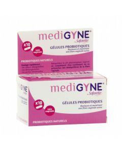 Saforelle Medigyne Gélules Vaginales Probiotiques 10 gélules