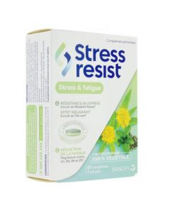 Stress Resist Stress & Fatigue 30 Comprimés