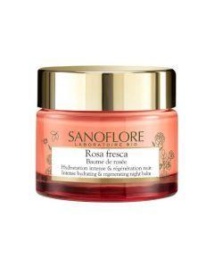 Sanoflore Rosa Fresca Baume de rosée Nuit Hydratation Intense 50ml