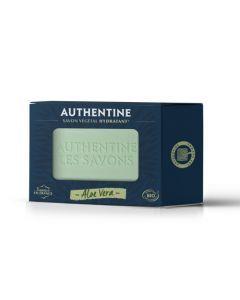 Authentine Savon Hydratant Aloe Vera Bio Pain 100g