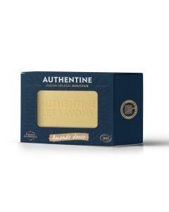 Authentine Savon Douceur Amande Douce Bio Pain 100g