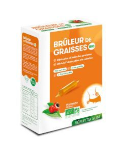 Séphyto Slim Brûleur de Graisses Bio 30 Ampoules