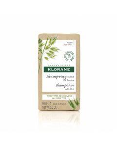 Klorane shampoing Solide à l'Avoine Extra Doux 80g