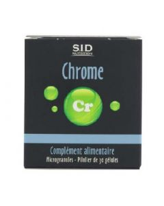 SID Nutrition Chrome 30 Gélules