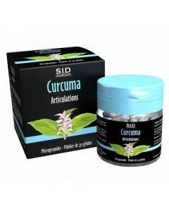 SID Nutrition Curcuma Articulations 30 Gélules