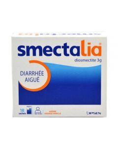 Smectalia 3 g poudre pour suspension buvable en sachet 18