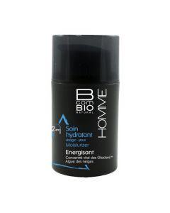 BcomBio Homme Soin Hydratant Énergisant 50ml