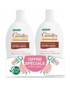 Rogé Cavaillès Soin Toilette Intime Extra Doux 2 x 500ml