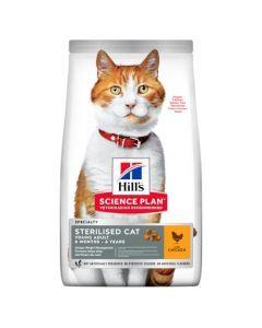 Hill's Feline Sterilised Jeune Adulte Poulet pour Chat 3kg