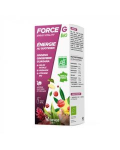 Force G Spray Vitality Bio Energie au Quotidien 15ml