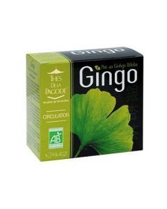 Thé de la Pagode Gingo 30 Sachets