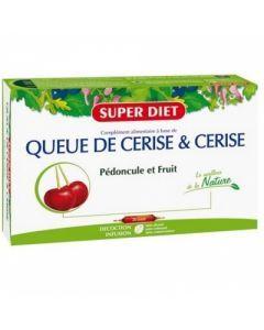 Super Diet Queue de Cerise 20 Ampoules
