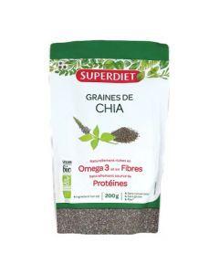 Superdiet Graines de Chia bio 200g