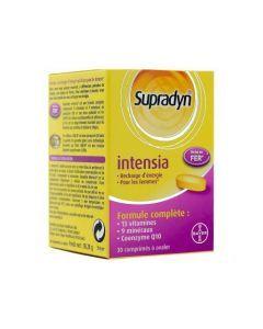 Supradyn Intensia Vitamines Minéraux Q10 et Fer 30 Comprimés
