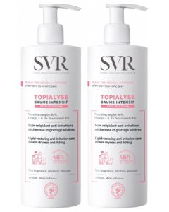 SVR Topialyse Baume Intensif Anti-Récidive 400ml x 2