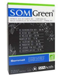 Synactifs Somgreen Bio 30 Gélules
