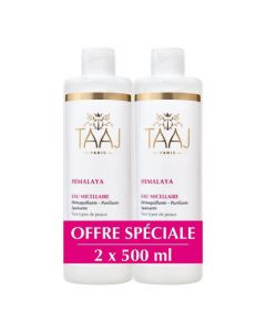 Taaj Himalaya Eau Micellaire Lot de 2x500ml