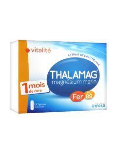 Thalamag Fer B9 Magnésium Marin 60 Gélules