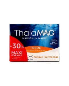 Thalamag Magnésium Marin Fatigue et Surmenage 2x60 Gélules
