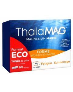 Thalamag Magnésium Marin Forme Physique et Mentale 60 Gélules