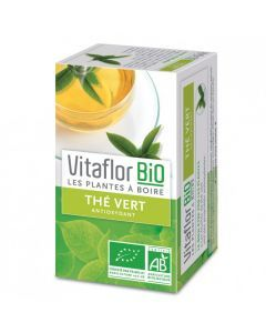 Vitaflor Bio Thé Vert 18 Sachets