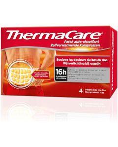 Thermacare Patch Auto-Chauffant Bas du Dos 4 Ceintures