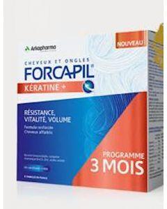 Forcapil Fortifiant Kératine + Programme de 3 mois