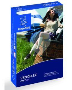 Thuasne Venoflex FastLin Chaussettes de Compression Médicale T2N Naturel