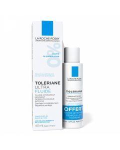 La Roche-Posay Tolériane Ultra Fluide Hydratant & Apaisant 40ml + Dermo-nettoyant 50 ml