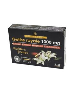 Sid Nutrition Oligoroyal Gelée Royale 1000mg 20 Ampoules
