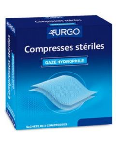 Urgo Compresses Stériles 10 Sachets de 2 Compresses