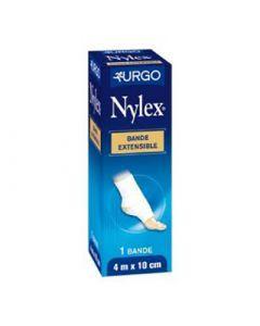 Urgo Nylex Bande Extensible Tissée Stérile 4 M X 10 Cm