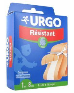 Urgo Résistant Bande Tissu à découper 1m x 8cm