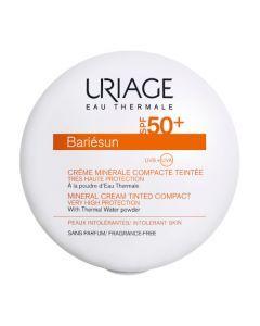 Uriage Bariésun Crème Minérale Compacte Teintée Dorée SPF50+ 10g