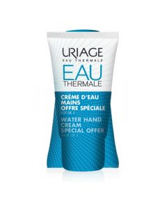 Uriage Crème d'Eau Mains lot de 2x50ml