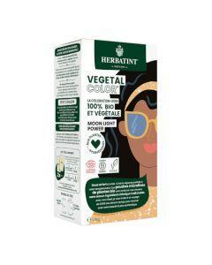 Herbatint Vegetal Color Couleur Noir et Soin 100g