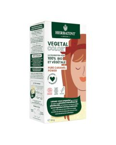 Herbatint Vegetal Color Couleur Caramel et Soin 100g