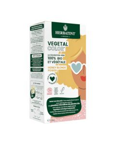 Herbatint Vegetal Color Couleur Blond et Soin 100g