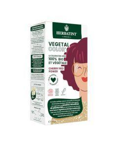 Herbatint Vegetal Color Couleur Rouge Cerise et Soin 100g