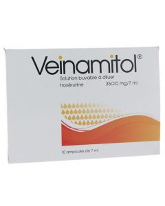 Veinamitol ampoules buvable 3500 mg