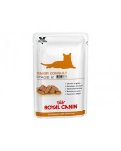Royal Canin VetCare Nutrition Senior Consult Stage 2 pour Chat 12x100g