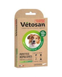 vetosan Pipettes répulsive Moyen et grand chien Etui de 2 pipettes de 3ml