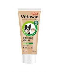 vetosan shampooing répulsif chien et chat