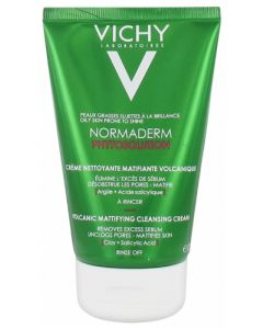 Vichy Normaderm Phytosolution Crème Nettoyante Matifiante Volcanique 125ml