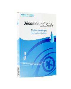Désomédine 0,1% collyre antiseptique 10 multidoses