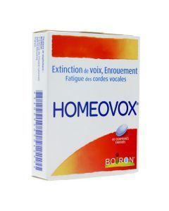 Homéovox 60 comprimés enrobés